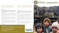 Spendenaufruf für Erdbebenopfer in Nepal