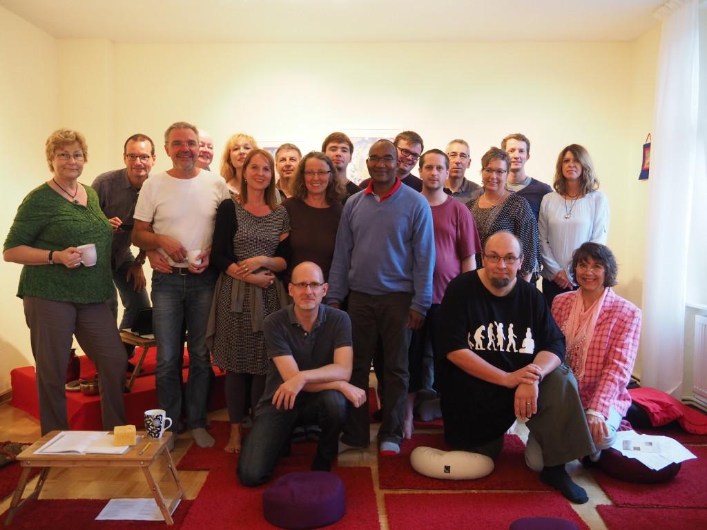 5.9.2015 Kurs mit Lama Tsewang über Karma