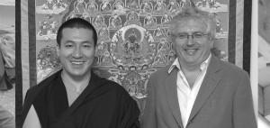 17. Karmapa Thaye Dorje und Lama Jampa Thaye