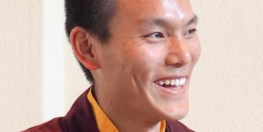 Erinnerung: ab Donnerstag Tenzing Wangpo zu Besuch