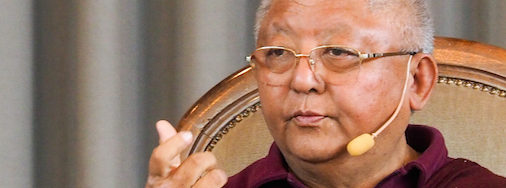 Jigme Rinpoche, Montag, 17. Oktober 2016, 20:00 Uhr – Vortragsabend