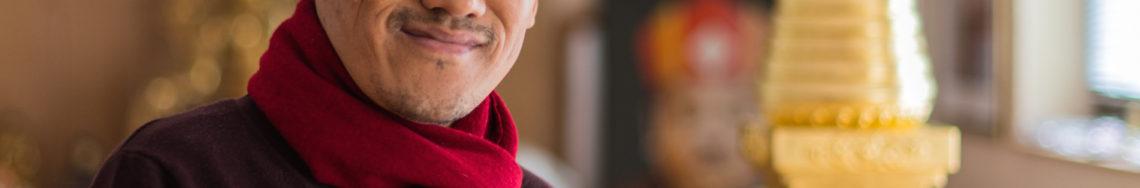 Lama Sherab zu Besuch vom 5.-11. Dezember 2016, Tonglen und Chenresig