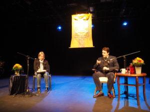 Trinlay Rinpoche und Isa Duffy